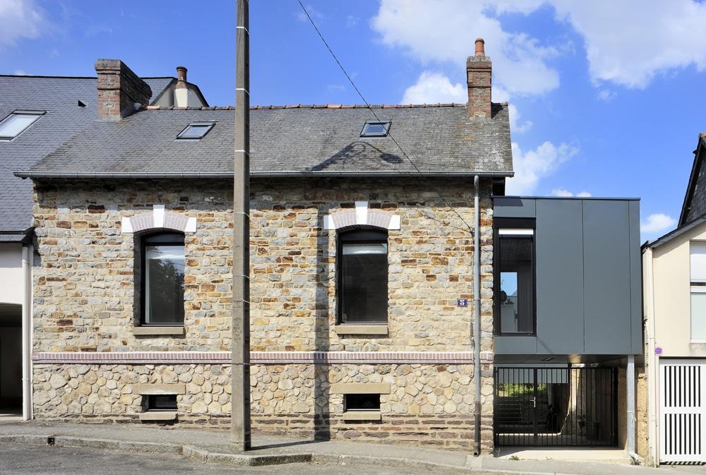 projet private extension rennes frenchie cristogatin. Black Bedroom Furniture Sets. Home Design Ideas